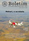 Primeiro avião 'acrobata' brasileiro, lançado pela Universidade, é destaque da nova edição do Boletim