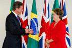Cameron e Rousseff
