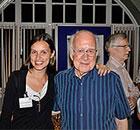 Flavia e Peter Higgs
